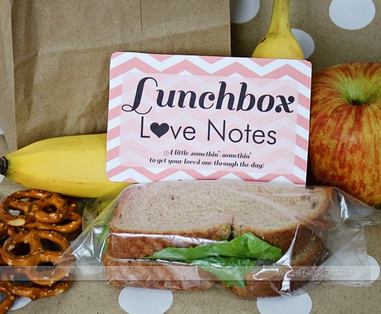 February Password Post Lunchbox love notes