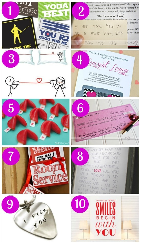 Fun Valentine's Ideas for your Husband