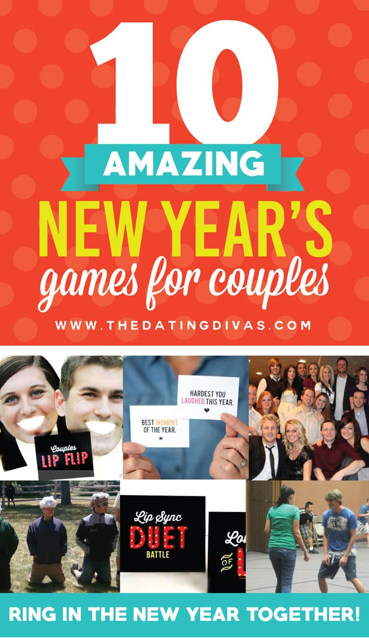 10 Excellent New Year's Games for Couples