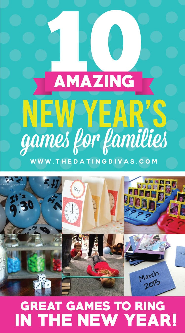 10 Fantastic Games for Your Family at New Year's