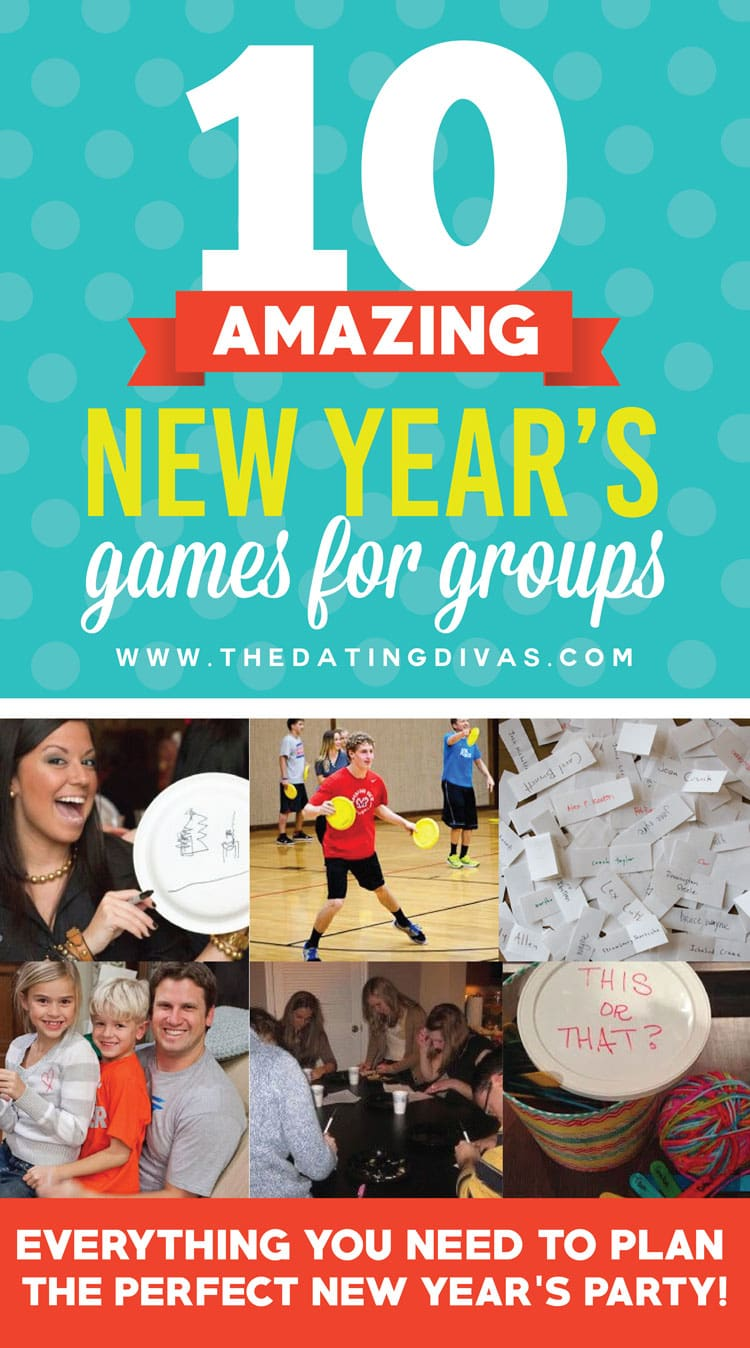 10 Wonderful New Year's Games for Large Groups