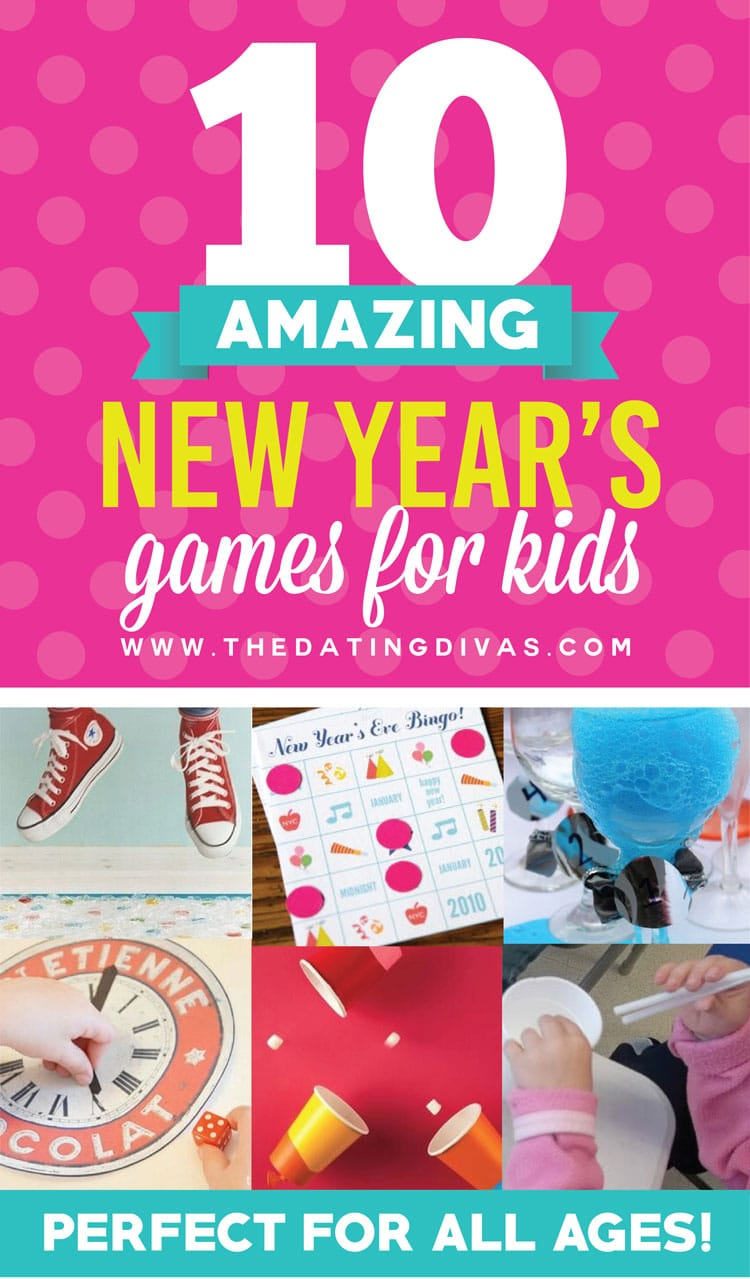 10 Great New Year's Games for Kids
