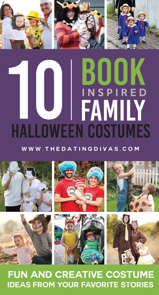 10 Book Inspired Family Costume Ideas