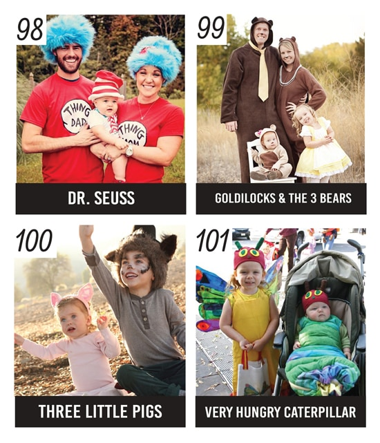 10 Family Halloween Costumes Inspired by Books