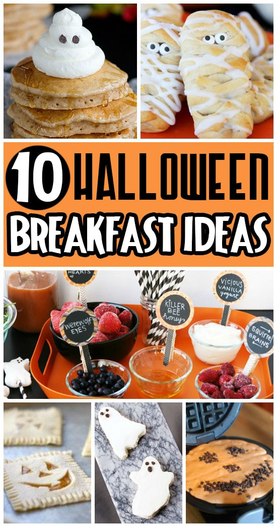 10 Fun Halloween Breakfast Ideas