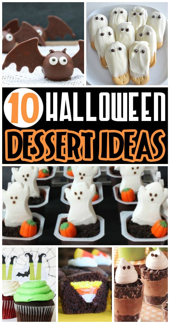 10 Fun Halloween Dessert Ideas