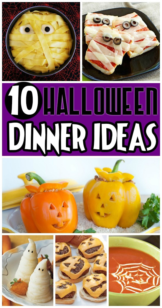 10 Fun Halloween Dinner Ideas