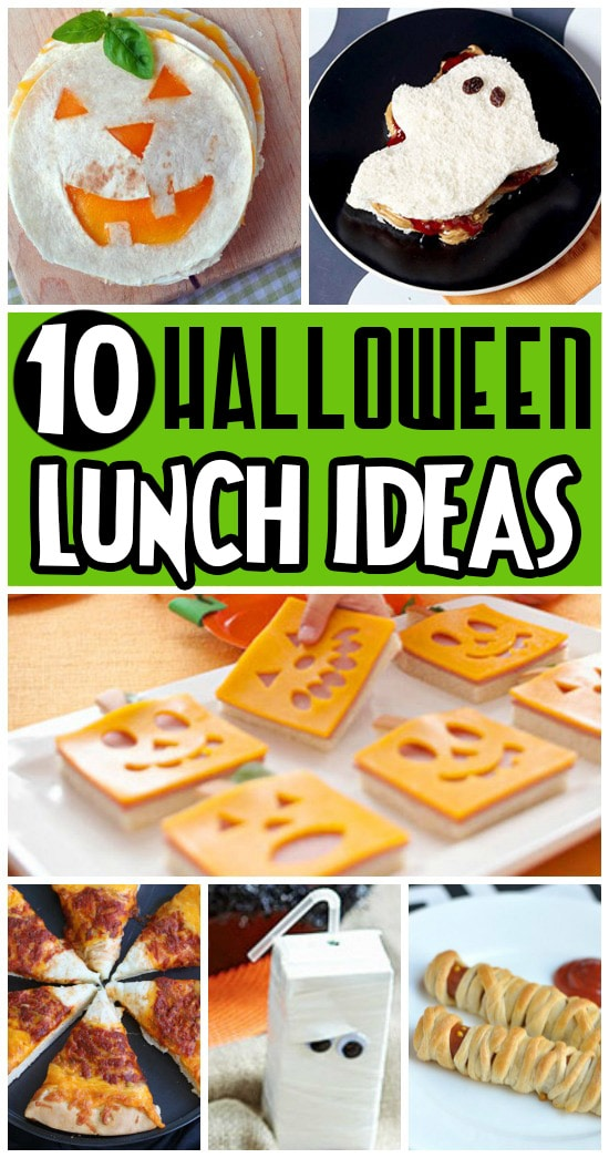 Fun Halloween Food Ideas for Lunch