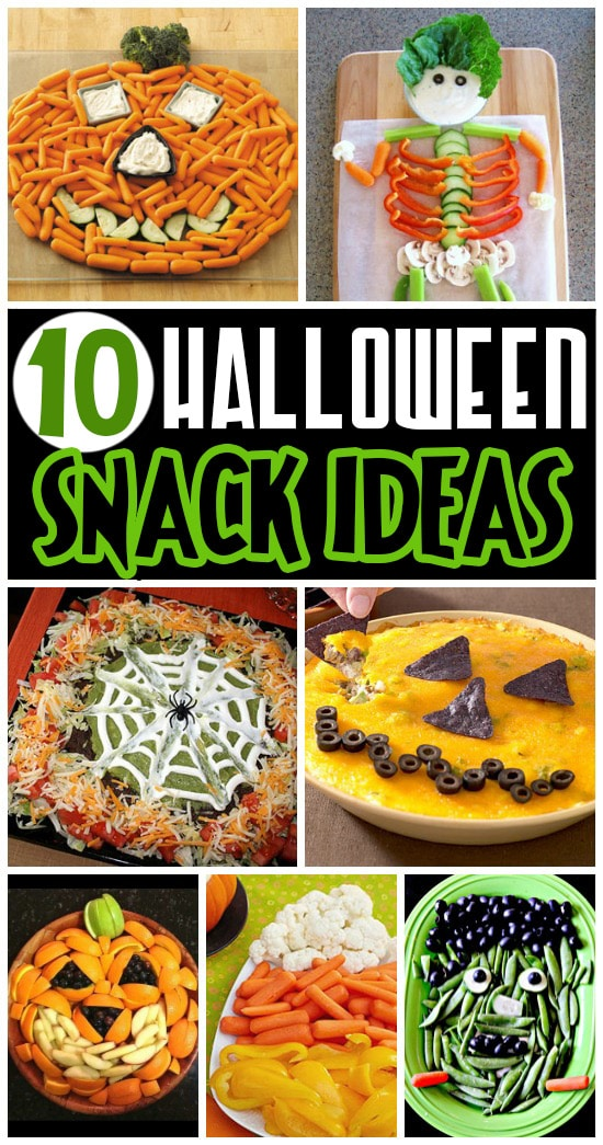 10 Fun Halloween Snack Ideas