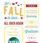 10 Gratitude Printable Quotes