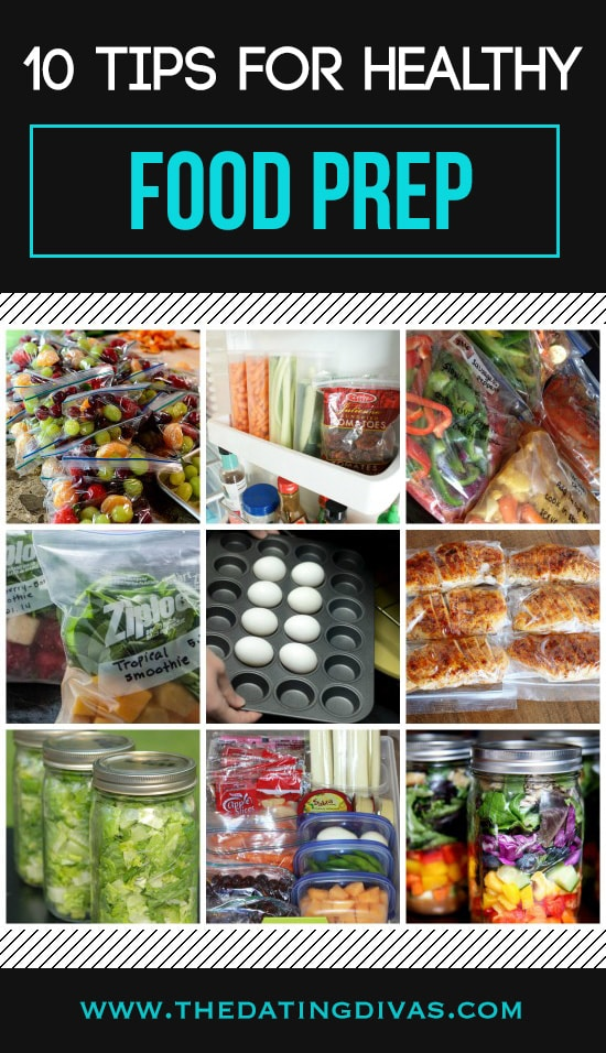 10 Healthy Food Prep Tips