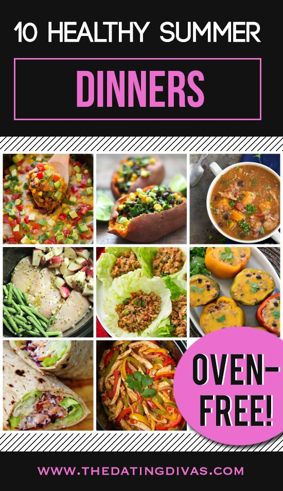 10 Healthy Oven-Free Summer Dinners