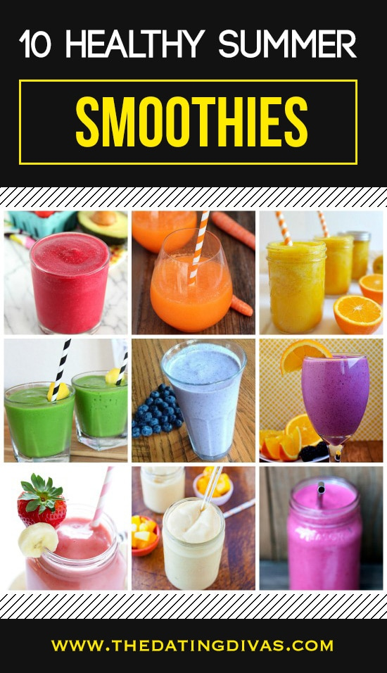 10 Healthy Summer Smoothies
