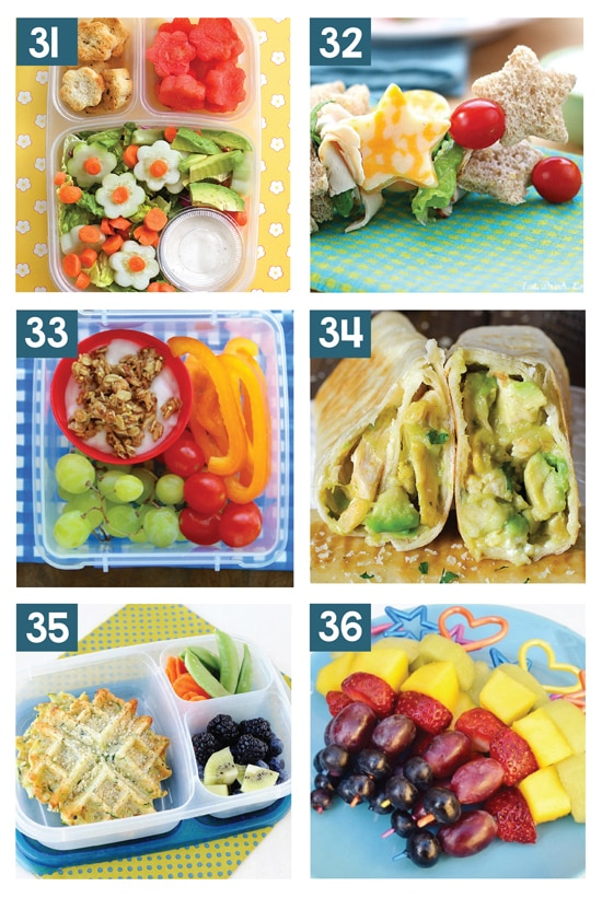 10 Kid-Approved Healthy Lunches