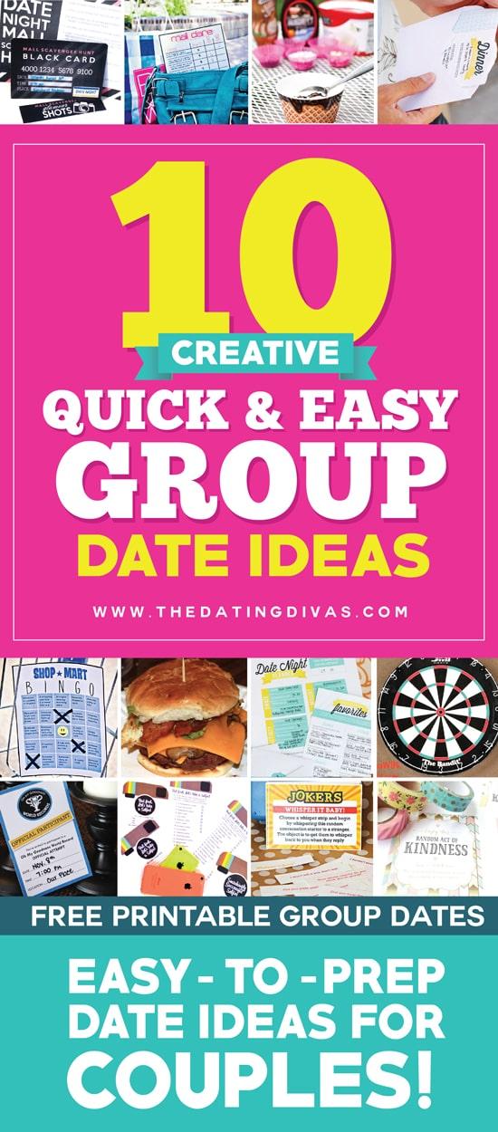 Quick date ideas