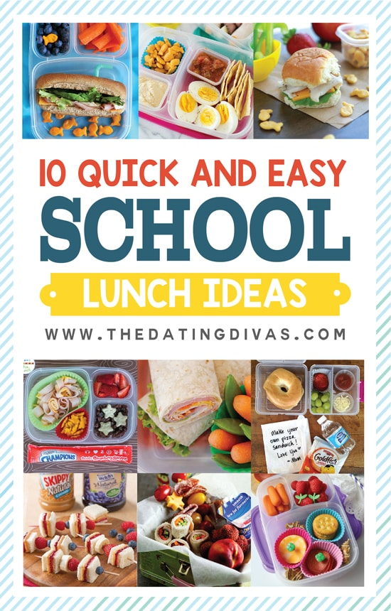 Quick and Easy School Lunch Ideas