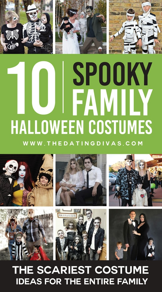 10 Scary Family Halloween Costumes