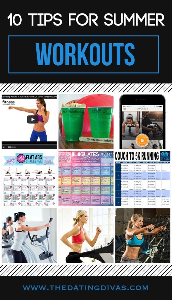10 Summer Workout Tips