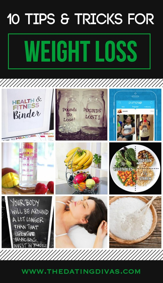 10 Tips & Tricks for Weight Loss