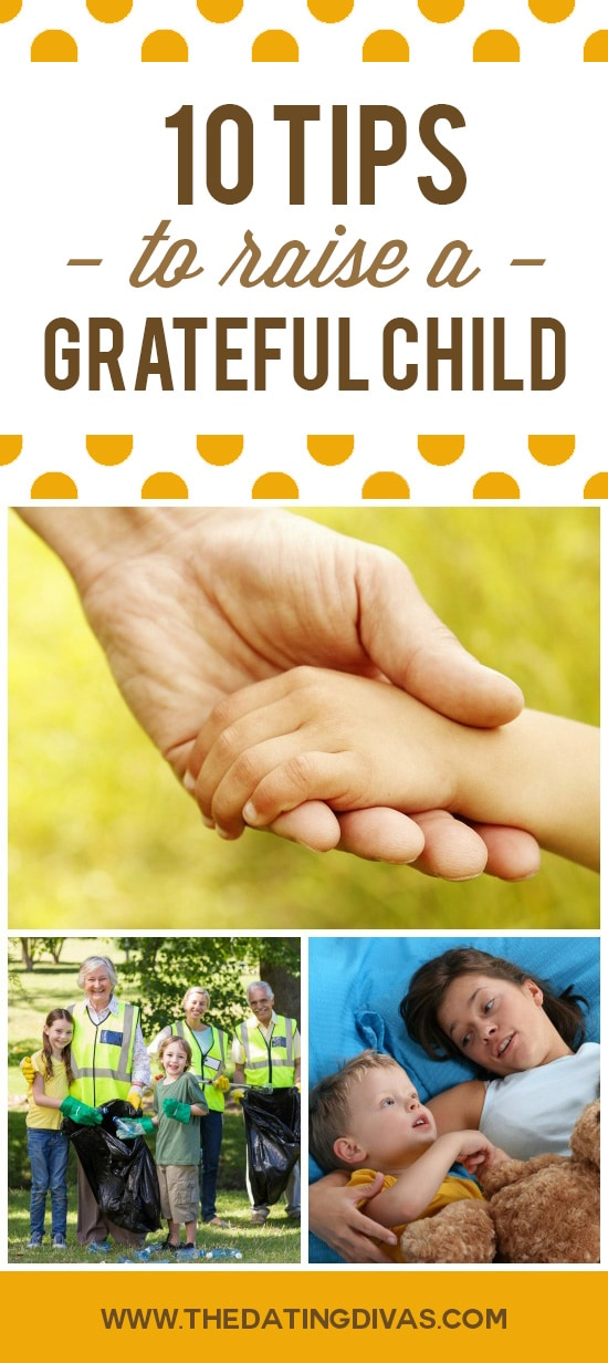 Tips for Raising a Grateful Child
