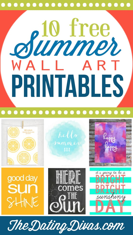 10 Summer Wall Art for Your Decorating Needs