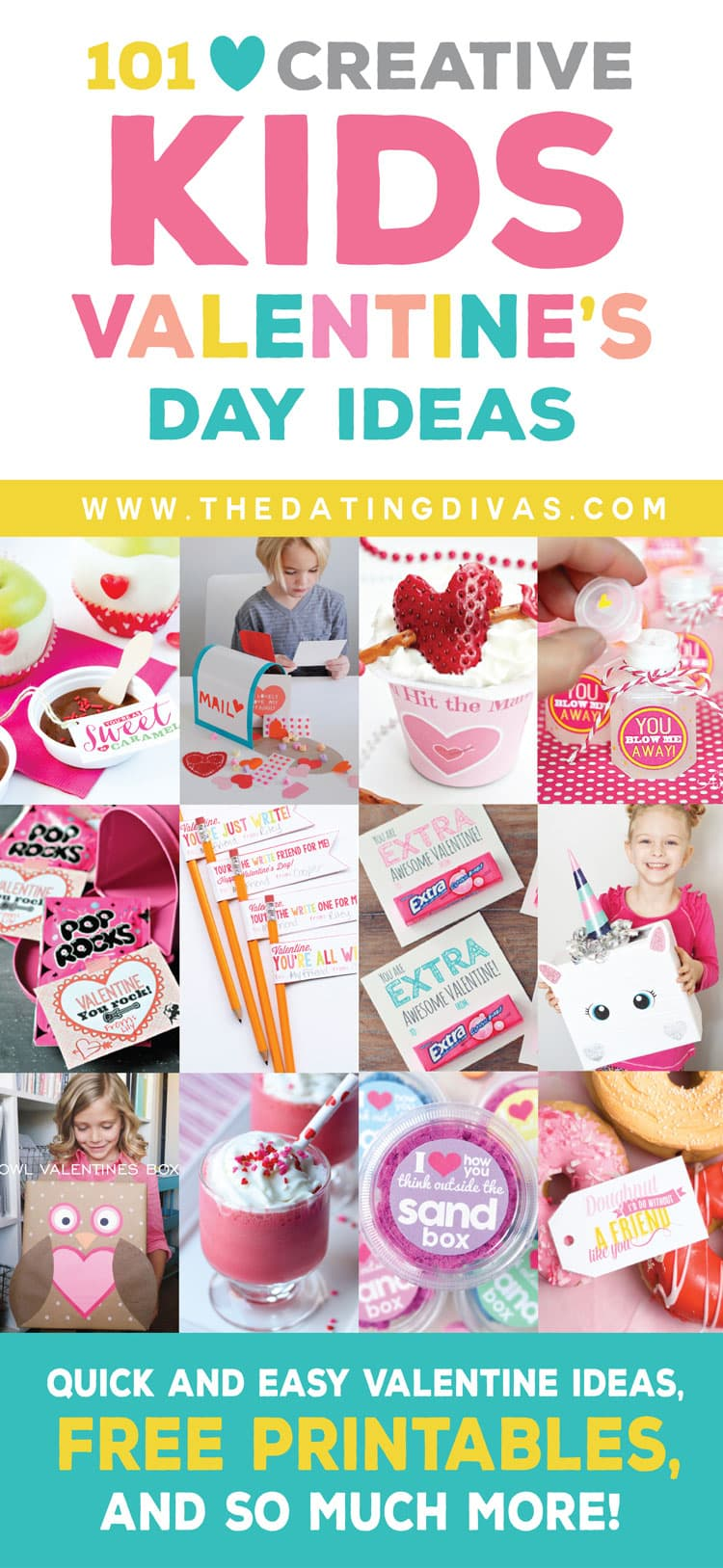 100 Creative Kids Valentine's Day Ideas