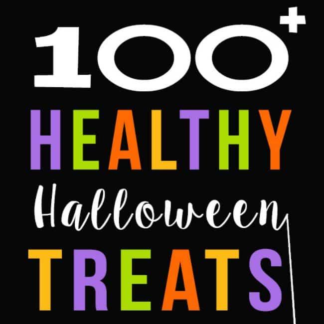 Healthy Halloween options.