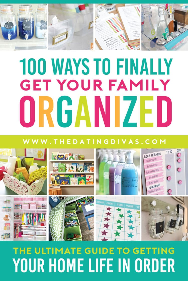 Top tips to help your family get organized!