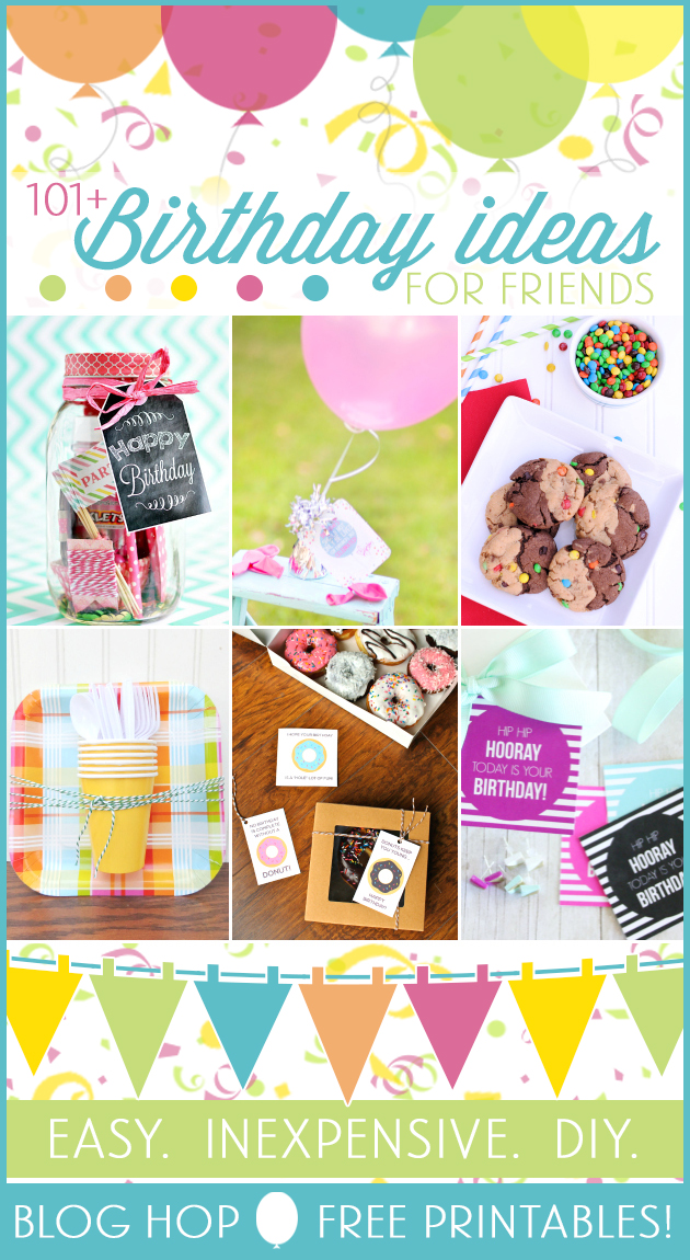 101 creative inexpensive birthday gift ideas for Fun blog ideas