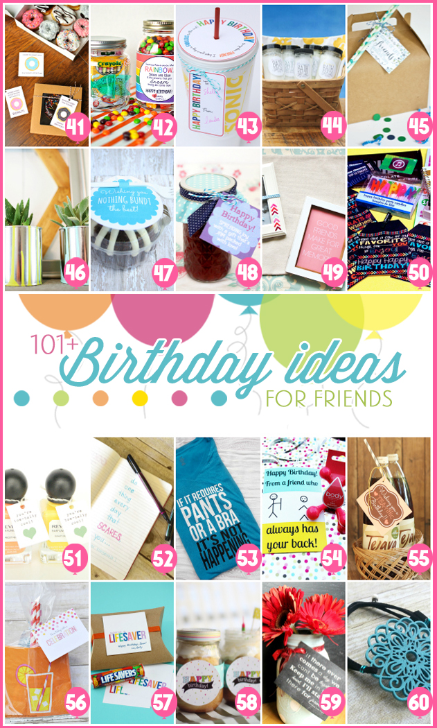 101 creative inexpensive birthday gift ideas