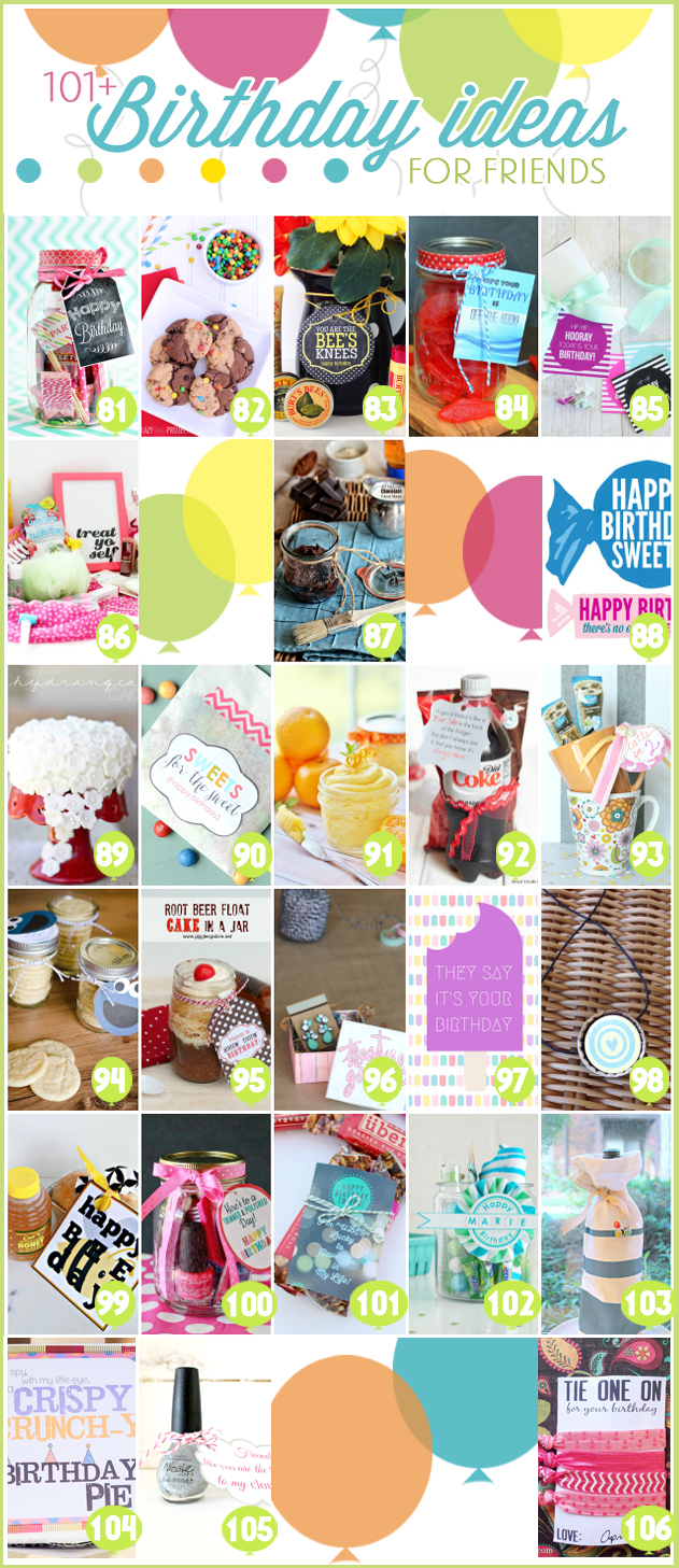 101 creative inexpensive birthday gift ideas for 101 crazy crafting ideas