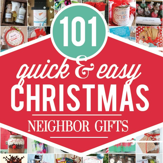 101 Christmas Neighbor Gifts