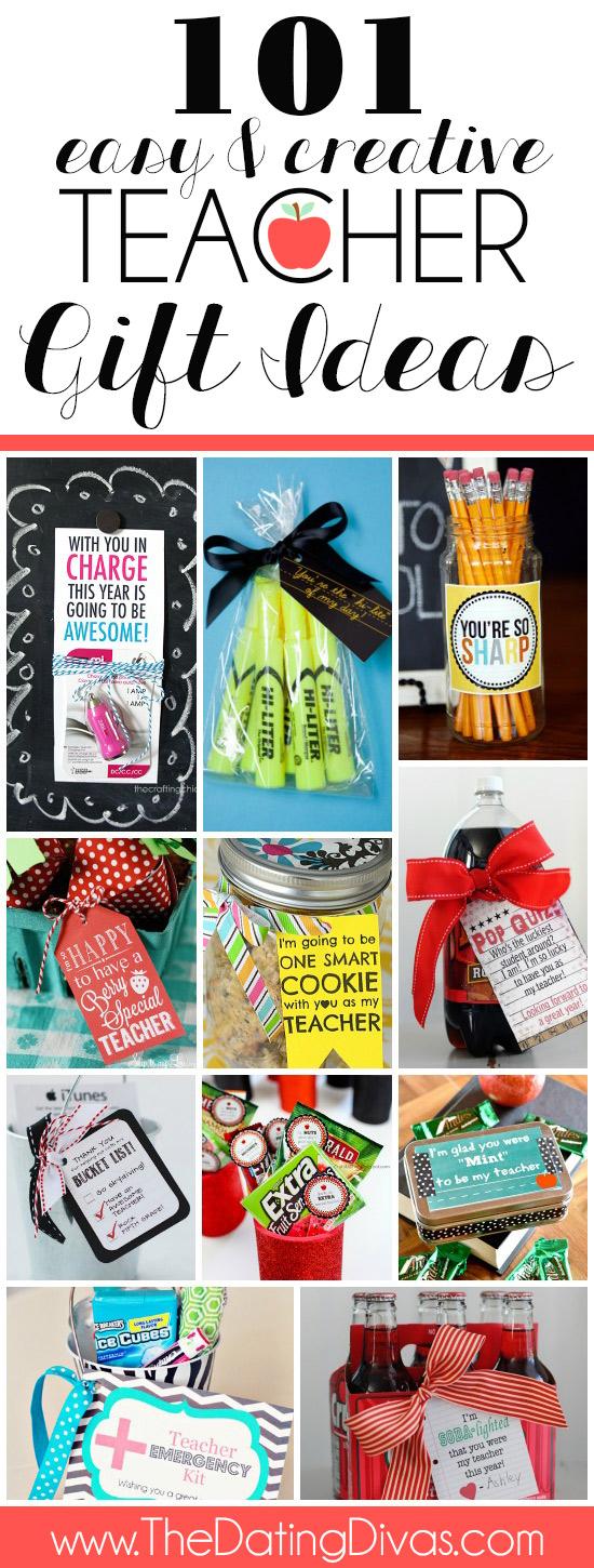 I am always on the hunt for creative ways to show love to my kids' teachers! So many cute ideas for back to school teacher gifts. #backtoschoolteachergifts #newteachergifts