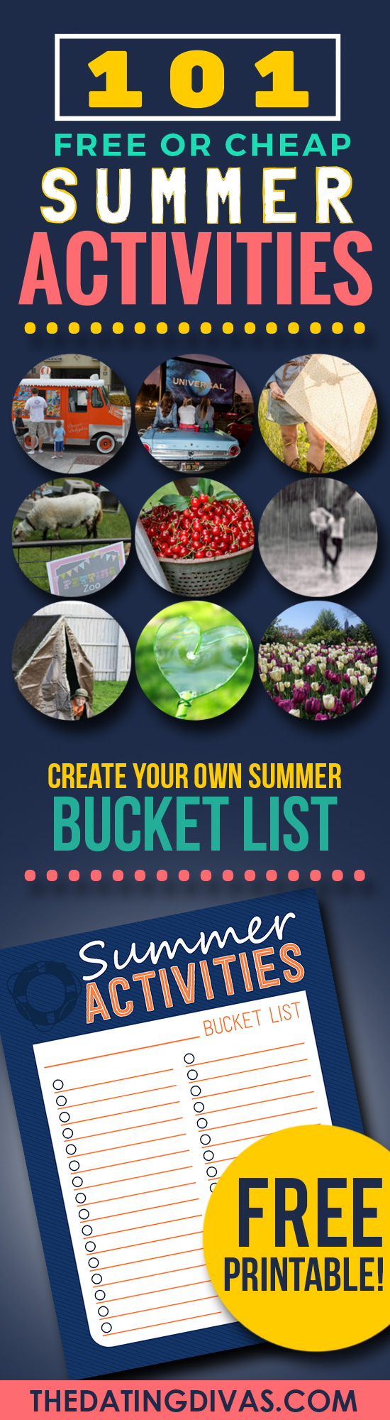 101 Summer Activities for Your Bucket List