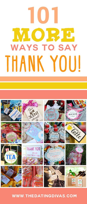 101 Ways to Show Your Gratitude