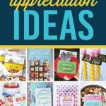 101 Teacher Appreciation Ideas