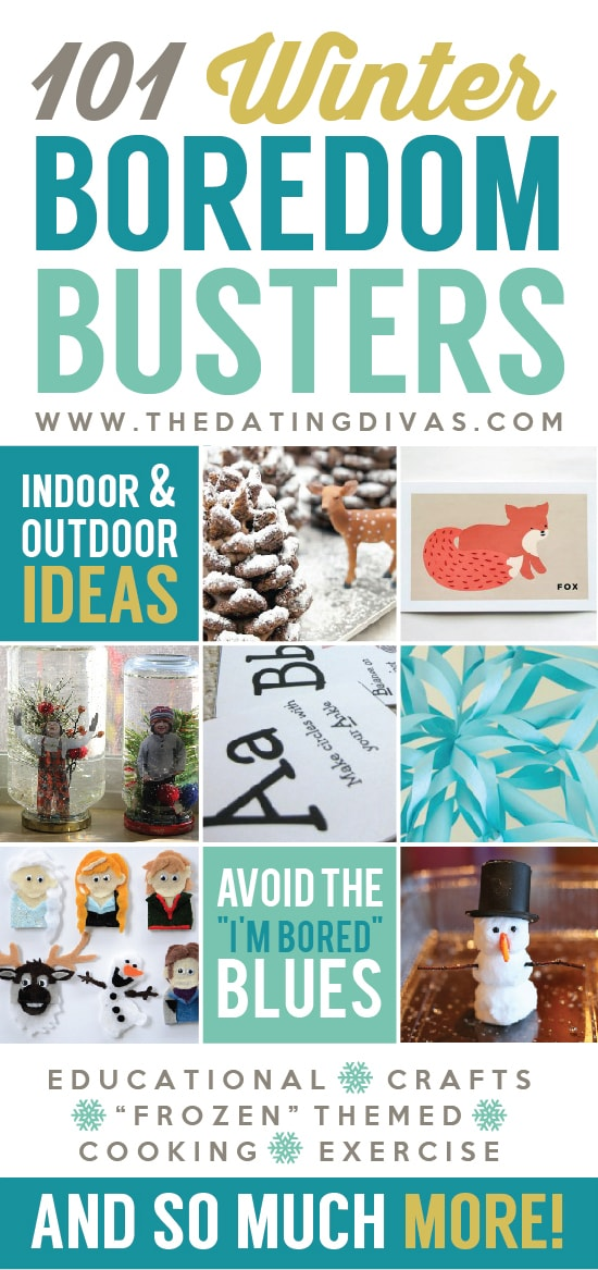 101 winter boredom busters for 101 crazy crafting ideas