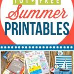 101+ Fun Summer Printables