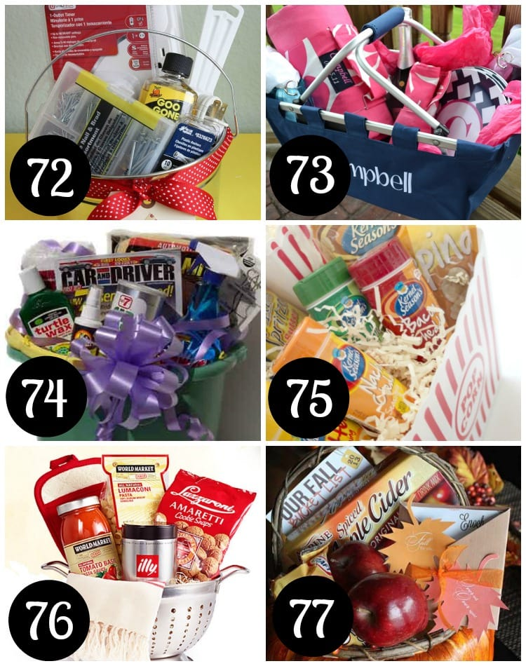 Wedding gift baskets for every new couple.