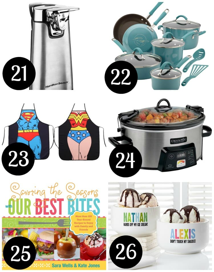 Wedding Gift Ideas For Kitchen : 22. Cookware Sets Beautiful pots and pans can make dinner time a ...