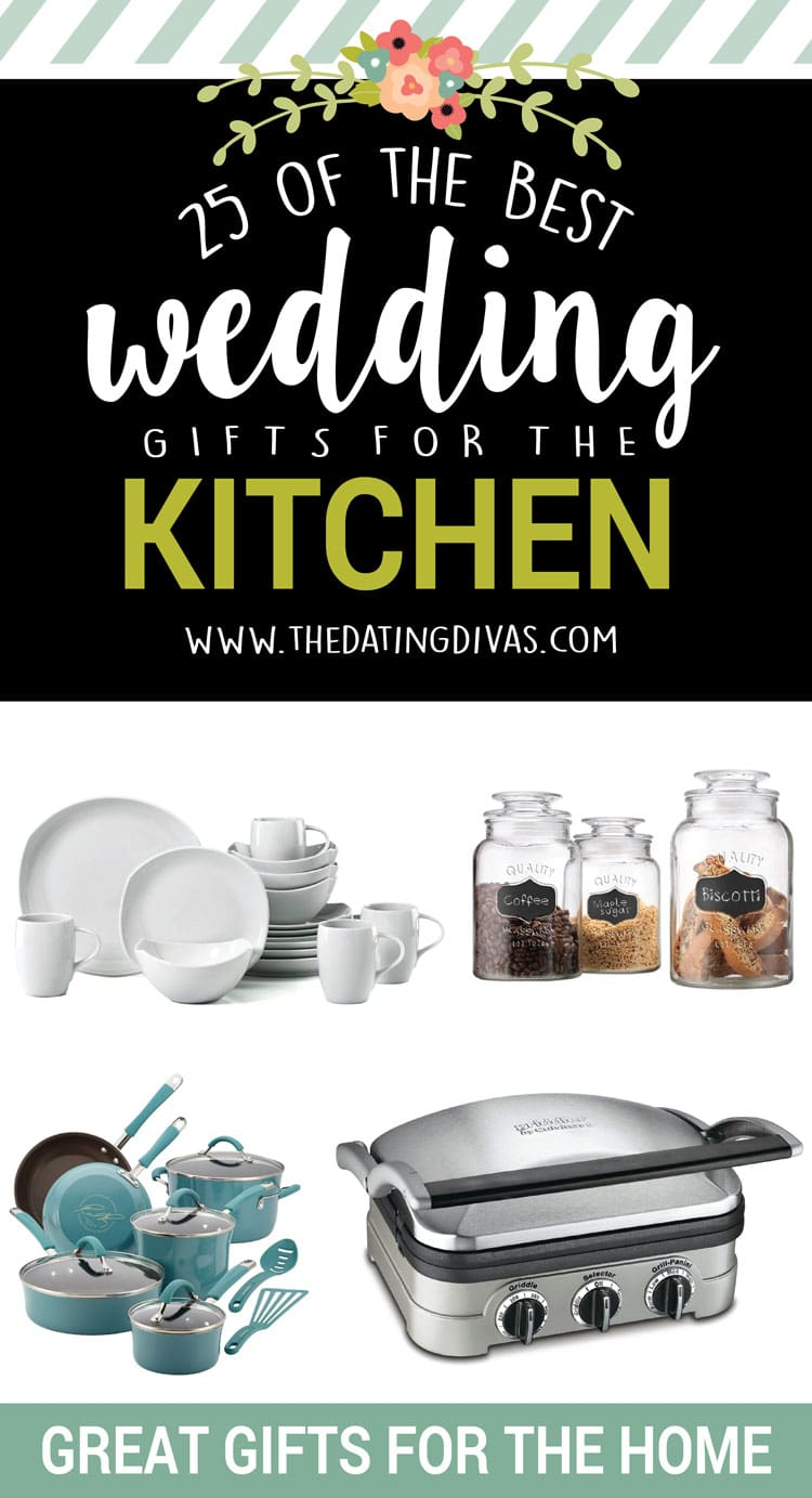 Wedding Gifts For The Kitchen : 25 of the BEST wedding gifts for the kitchen!