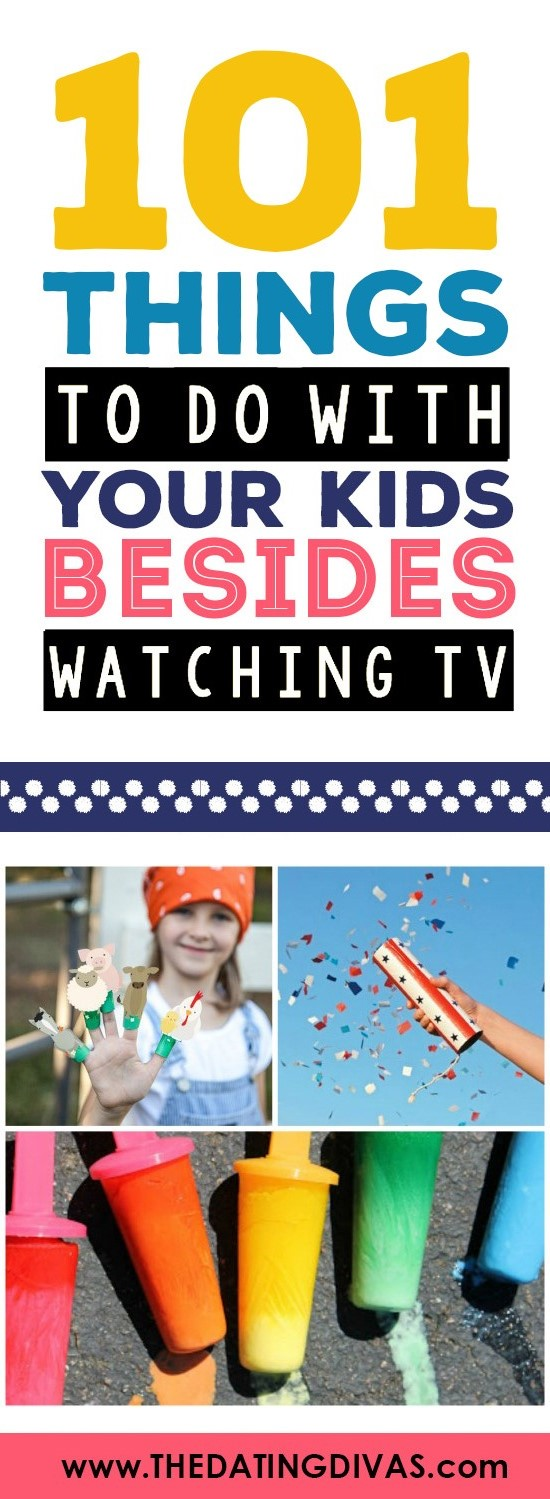 Things For Kids To Do Besides Watch Tv