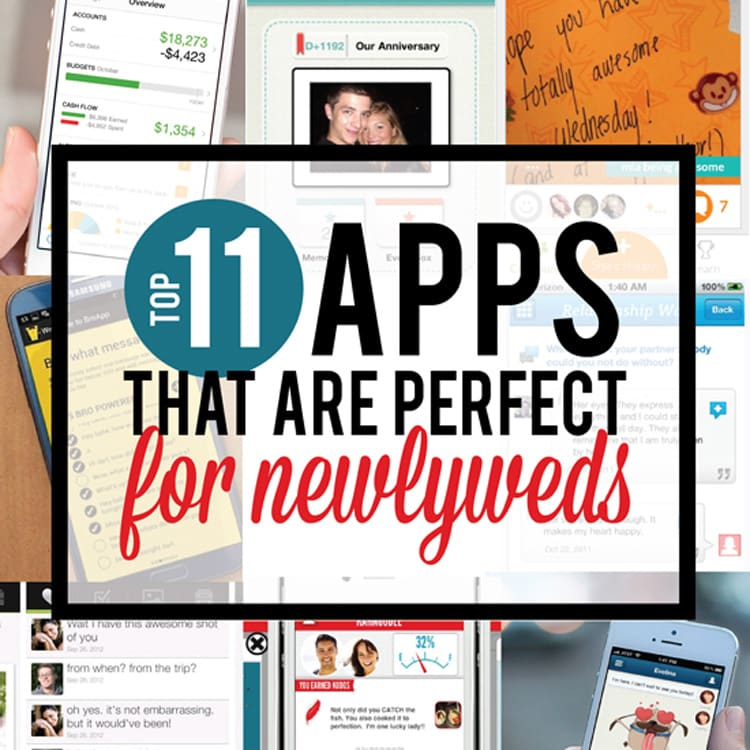 11 mobile apps for newlywed couples