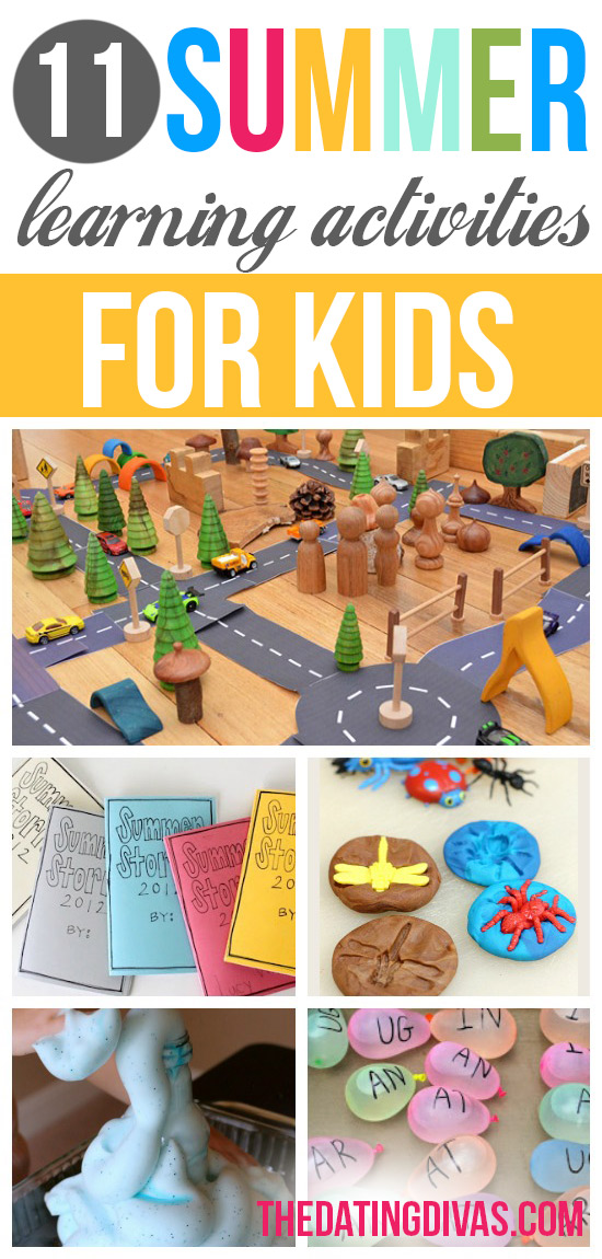 11 Summer Learning Activities for Kids
