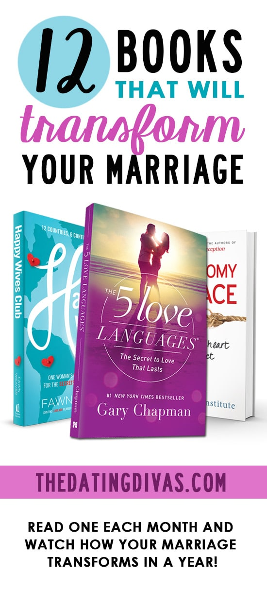 12 Books That Will Transform Your Marriage # Marriagebooks #Bookclub