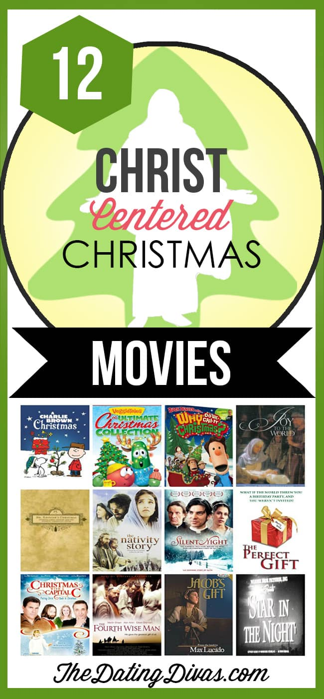 Christ-Centered Christmas Movies- to help the kids remember what Christmas is really about!