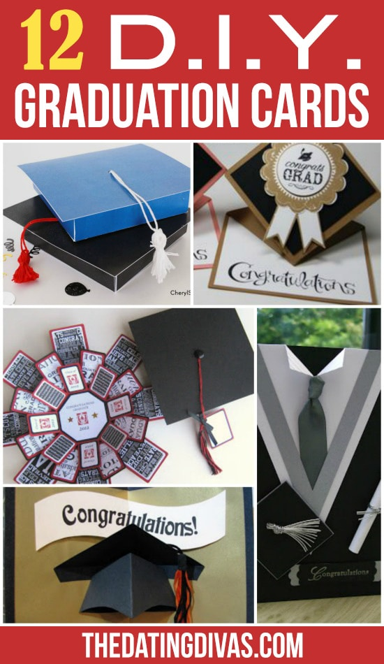 12 DIY Graduation Cards