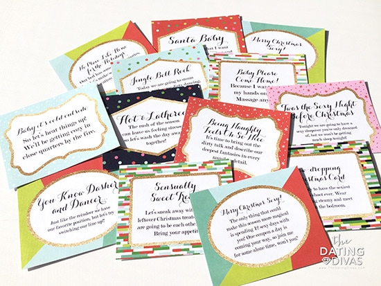 12 Days of Sexy Christmas Coupons Free Printables