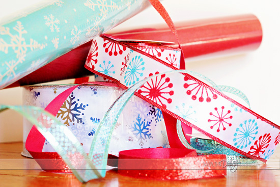 12 days of christmas wrapping materials