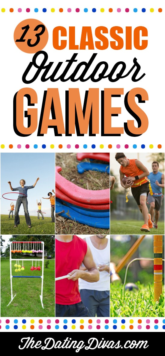 Classic Games for the Outdoors and Fun Games for Kids